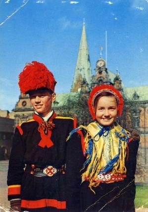 1958 serie presto carte 2 recto stockholm