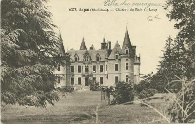 Augan chateau du bois du loup recto