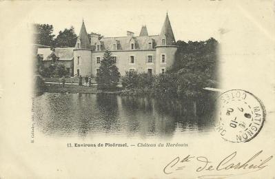 Augan chateau du hardouin recto