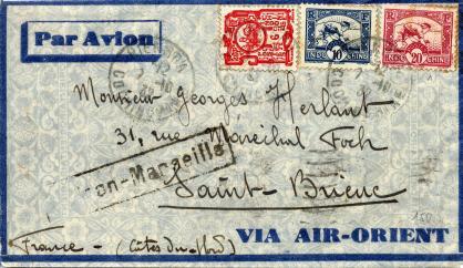 Saigon marseille 1932 air orient recto